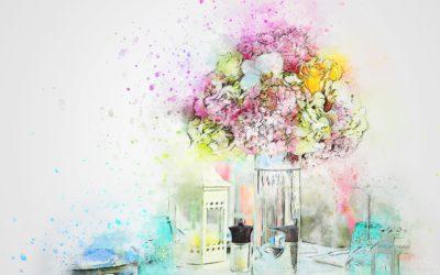 Jarrones y floreros para animar tu hogar